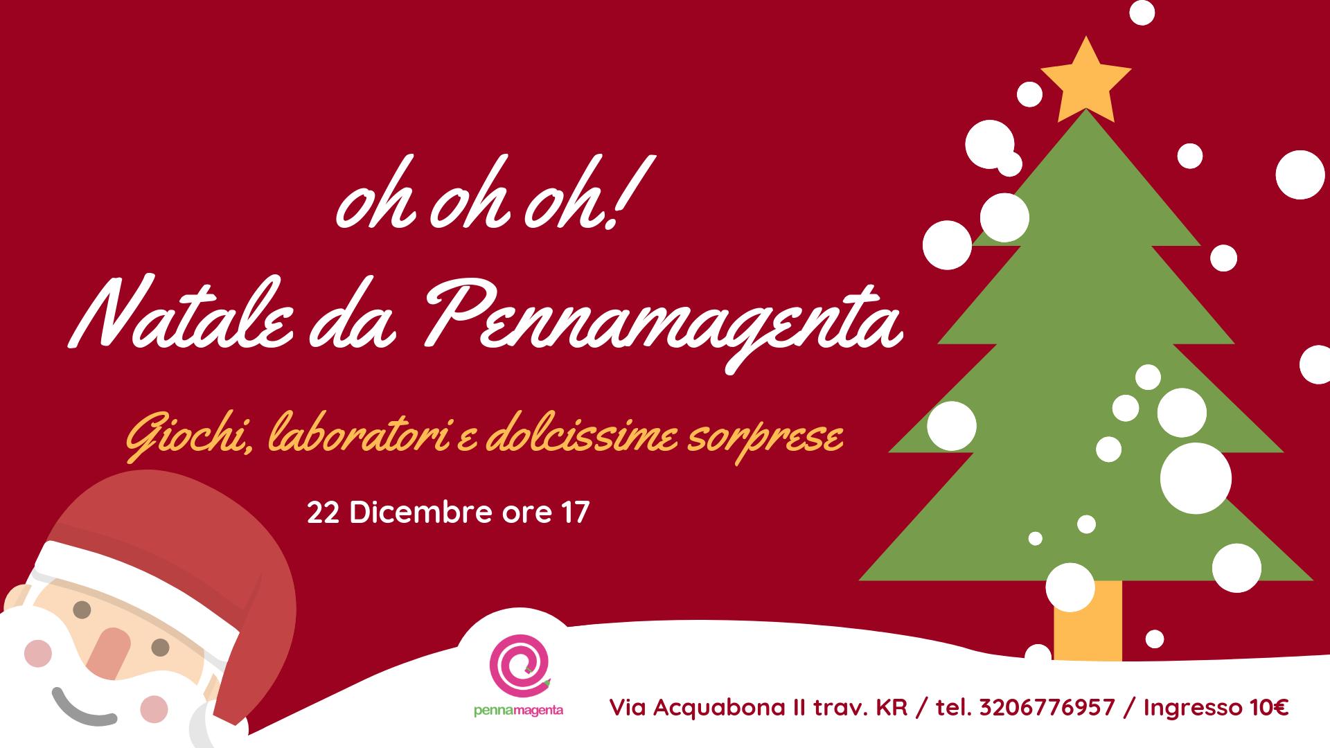 Immagini Copertina Natale.Copertina Festa Di Natale 2018 5 Pennamagenta